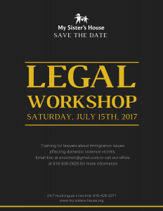 legal workshop save the date